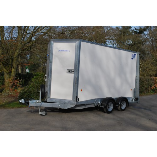 Twin Axle Box Van Trailer - 12ft (internal length)