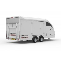 Covered Car Transporter Trailer