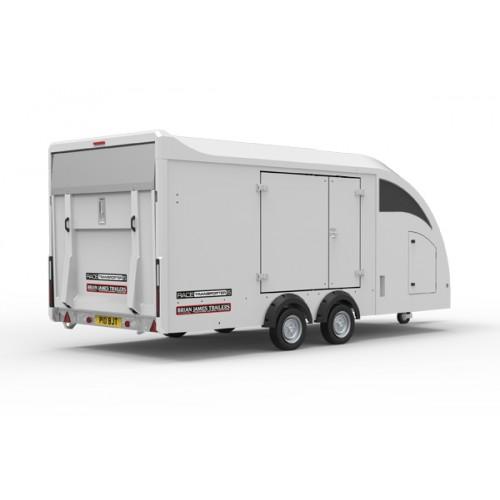 Covered Car Transporter Trailer