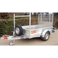 General Purpose - Single Axle Trailer 'Braked'